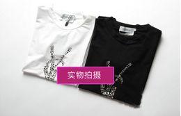 Wholesale Women Short Sleeve T Shirt Lady Letter T Shirt Tops Women Outwear Shirt G1D6BC