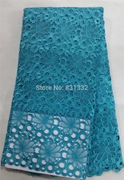 Wholesale good selling african guipure lace fabric high class embroidered water soluble lace for party dress AMY11118