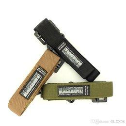 Wholesale Men Adjustable Survival Tactical Belt Emergency Rescue Rigger Militaria Military