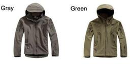 9 цветов G Мужская Lurker кожи акулы Мягкий Shell Открытый Военная Тактическая походная куртка Водонепроницаемый Windproof Sports Army камуфляж пальто