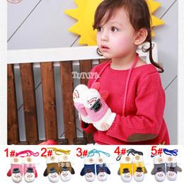 Wholesale 2014 New Cute Children s Mittens Girls Boys Gloves Snowman Style Thickening Warmer Fur Knit Glove Kids Autumn Winter Accessories A1551