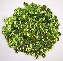 Wholesale 10g aprox mm verde claro Flake de lentejuelas Decoración Confetti