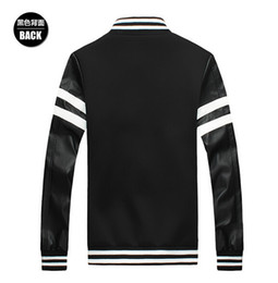 Sleeves Baseball Jacket Online | Mens Baseball Jacket Leather ...