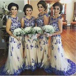 Royal Blue And Gold Wedding DressesWEDDING | WEDDING