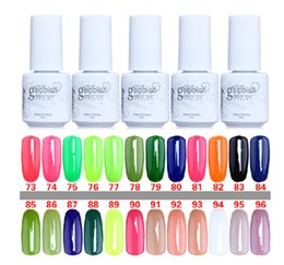 Wholesale 20pcs Gelish Nail Polish UV Gel Soak Off Gel Polish Nail Lacquer Varnish Brand New Top Quality Long lasting Colors Color ml