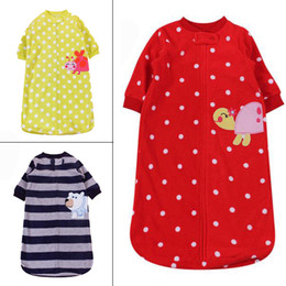 Wholesale Retail Baby Sleeping bag new spring and autumn Infant Boys Girls long sleeve fleece sleep bags Toddle kids clothes cheap HX