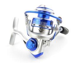 Wholesale 4pcs Mini BB rouleaux de pêche Roulements Spinning Reel Ratio navires de pêche