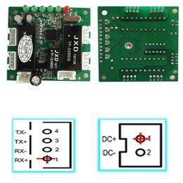 10 / 100Mbps Interruptores de red 5 Puerto Pcb Tablero del interruptor Fabricante Acepte el mini módulo del ODM de Oem