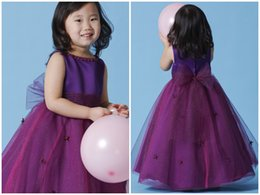 Wholesale 2015 Lovely Formal Dresses for Dids Ball Gown Jewel Bow Sashes Little Girls Pageant Dresses Flower Girl Tulle Dresses y01