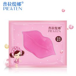 Wholesale PILATEN Hot Selling Lip Mask Crystal Collagen Lips Care Pads Lip Smackers Face Care DHL