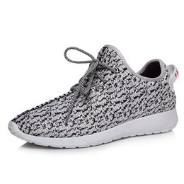 Wholesale BOOST LOW MEN RUNNING SHOES Gray Black Men s Women s High Quality Fashion sneakers