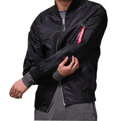 Wholesale Marca Kanye West chaquetas para los hombres GD estilo de los hombres de la Fuerza Aérea Militar MA de la chaqueta de bombardero abrigos de béisbol de la manera de los hombres rompevientos prendas casuales