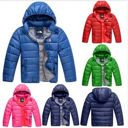 Wholesale 2015 new colors Cotton padded clothes children coat boys girls thick warm jacket for autumn winter kids outerwear