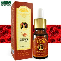 Wholesale Rose Essential Oil ml Moisturizing Whitening Astringe Shinking Pores Pure Essential Oil Beauty Skin Care oil