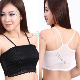 Lace Back Bandeau Bra Online | Lace Back Bandeau Bra for Sale