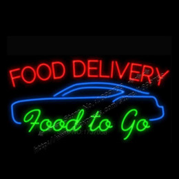 Discount food neon signs 2016 food neon signs on sale at for Order food to go