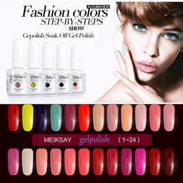 Wholesale Nail Gel Polish ml Soak Off Nail Polish Manicure Gel For Nails UV Bling Natural Color Kawaii