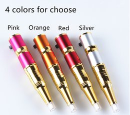 Wholesale 1set Eyebrow Rechargeable Permanent Makeup Pen Power supply Tattoo Machine Kit Cheap Price