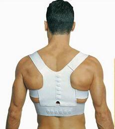 Wholesale Back Shoulder Corrector Support Brace Posture Corrector Belt Magnetic Posture Support Corrector Back Pain Belt Carton Package LJJE316