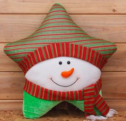 Xmas Decoration Santa Claus, Snowman,christmas Deer Pillow Toys,happy new year bolas de natal papai noel for home enfeites navidad from deer stand accessories manufacturers