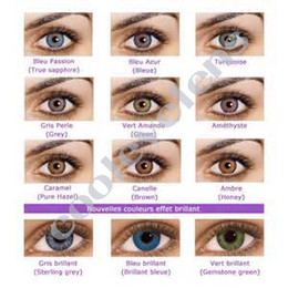 Wholesale Christmas special offers contact lens pairs case free Freshlook Contact lenses color contact lens crazy lens Tones