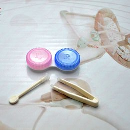 Wholesale Contact Lenses Box Lenses Case Small Clip rs Clip Contact Lens Accessories Ems