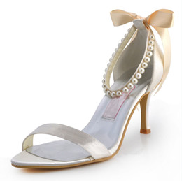 Wholesale 2015 Sparkly Rhinestone Wedding Shoes cm High Heel Open Toe Bridal Shoes Custom Made Women s Prom Party Evening Dress Wedding Bridal Shoes