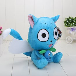 Discount fairy tails 4pcs Fairy Tail 9inch 23cm Cute Happy plush Doll Stuffed toy Retail