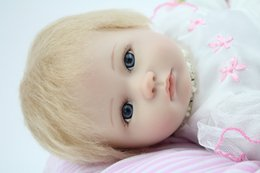 Wholesale Fashion Reborn Baby Doll Handmade Lifelike Silicone Adorable Princess Doll For Girls inch