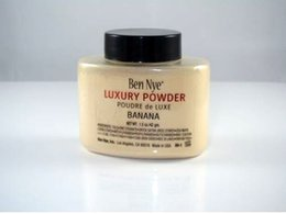 Wholesale 2015 newest Ben Nye Luxury Powder g New Natural Face Loose Powder Waterproof Nutritious Banana Brighten Long lasting