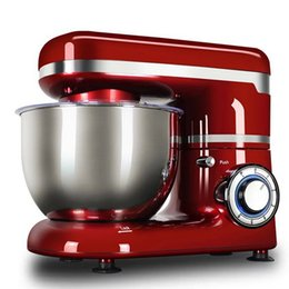 Support de cuisson Mélangeur en acier inoxydable ménages Classique Cuisine Baking 4L Dough Mixer alimentaire machine de mélange Tous les 6 Speed ​​Metal Artisan Tilt