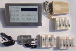 Wholesale Good quality Nouveau contour needle Cartridges digital permanent makeup Tattoo machine with LCD power DHL