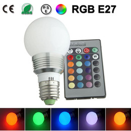 9w 12w lamp led e27 dimmable bulb rgb couleur ampoule led e27 lampadine colore lampadina lampen led eclairage lampe 110v 220v - Ampoule Colore