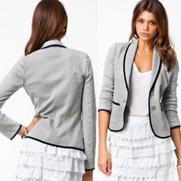 Wholesale New Womens Ladies Stylish Casual Suit Coat Jacket Blazer Size