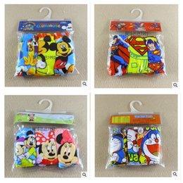 Wholesale 3pcs set children s underwear cartoon frozen spiderman super hero Dora Sofia princess mickey minnie superman briefs cotton underwear m146