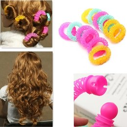 Wholesale Hot Selling Beauty Arrival Lucky Donuts Curly Fashion Hair Curls Roller Accessories For Women