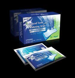 Wholesale Teeth Whitening Dental Whitening Kit Strips Advanced Tooth Whitener Non Peroxide Pairs