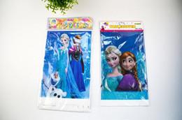 20шт Замороженный PE прямоугольник Скатерть для дня рождения, партии, украшения Детский день рождения Одноразовые скатерти