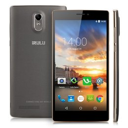 """Discount chinese phone screens Certified Refurbished iRULU Victory V3 6.5"""" Smartphone Android 5.1 Quad Core 4G LTE Dual SIM Unlocked Cell Phones Free Shipping"""