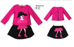 Wholesale 2014 new Autumn and winter Korea cloth Embroidery printing cartoon long sleeve coat skirt suit