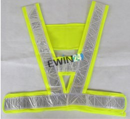 Wholesale Brand new and high quality Adjustable High Visibility Yellow Green Safety Vest Reflective For Traffic Construction Safety