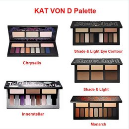 Wholesale HOT New KAT VON D Palette Chrysalis Innerstellar Shade Light Monarch Shade Light Eye Contour