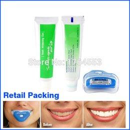 Wholesale Personal Heath Dental White Light Teeth Whitener Teeth Whitening Whitelight Fast working Brightening Whiten Complete Tool Set