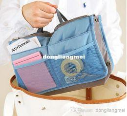 Wholesale 50pc Makeup Bag Purse Cosmetic MP3 Mp4 Phone Storage Organizer Sundry Bags Cosmetics Bags Multi Two Zipper Bag Z18
