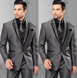 Grey Piece Suit Slim Fit Online | Light Grey Piece Slim Fit Suit ...