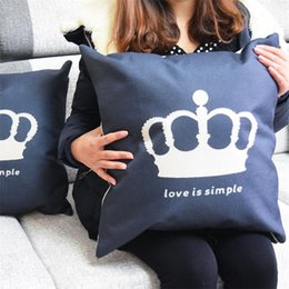 discount home decorating bedding fashion decorative home pillow covers love crown eth0108 room decors throw car