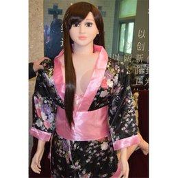 Wholesale Sexo del silicón suave de silicona La mitad de todo el cuerpo real muñeca del sexo masculino realista japonesa Muñecas del amor de las muñecas tamaño natural Muñecas realista del sexo para los hombres