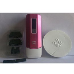 Wholesale No No No No hair pro5 NoN Pro3 Hair Removal System No No with levels of temperature Pink Blue chrome in Stock DHL EMS Free