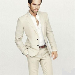 Cream Suits For Men Dress Yy