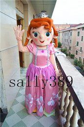 Wholesale new Sofia Puzzle Pink Character Cartoon Mascot Costume Adult Size